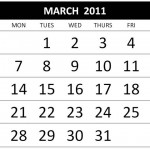 2011 March