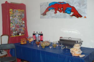 Superheroes Event